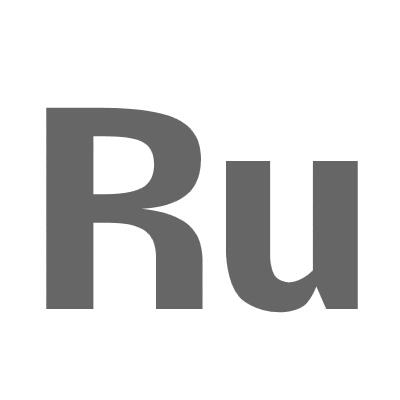 Ruthenium on carbon