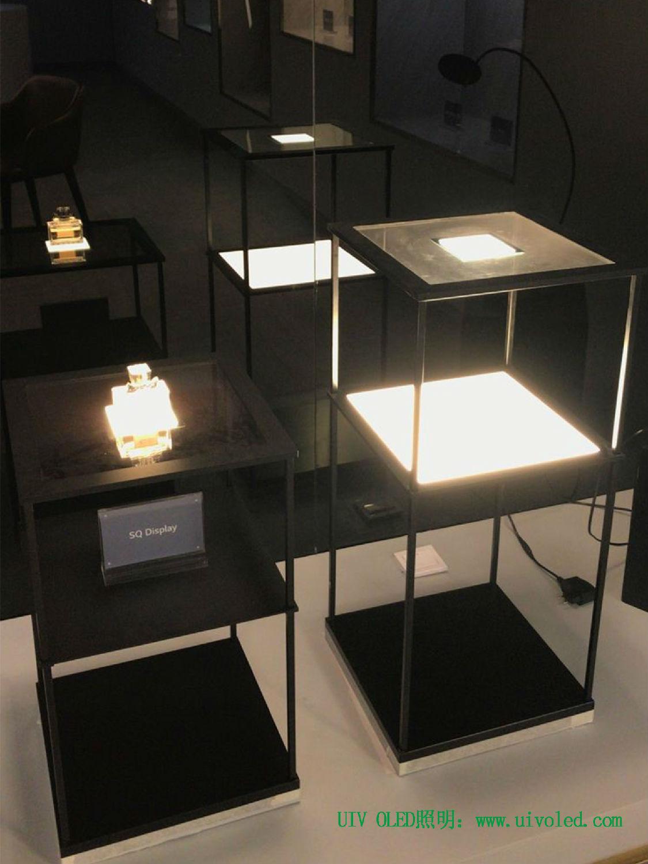 高显指,不发热oled照明透明嵌接解决方案在展览展示领域的应用示范
